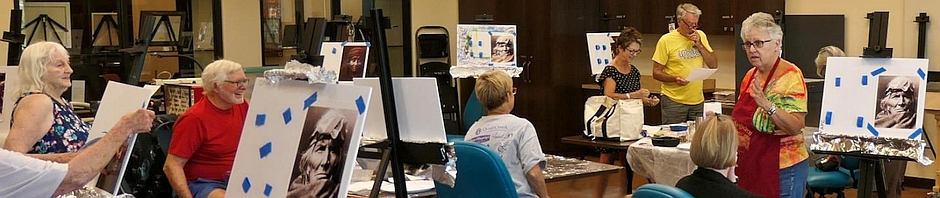 Quail Creek Fine Arts Painting Club