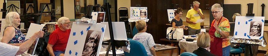 Quail Creek Fine Arts Painting Club